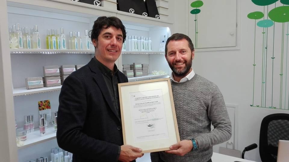 certificado de cosmetica ecologica