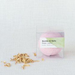 Rose and Orange Blossom Bath Bomb