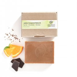 Chocolate and Orange Soap