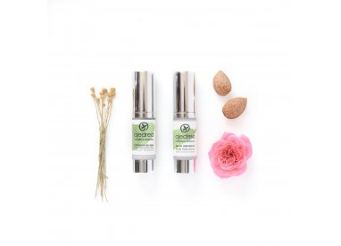 Eye contour organic care kit