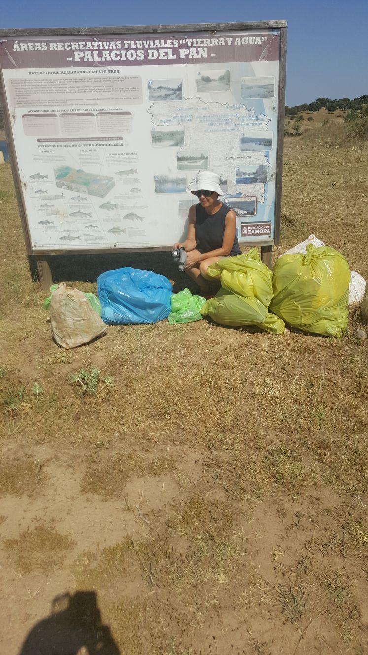 recogida basura voluntarios