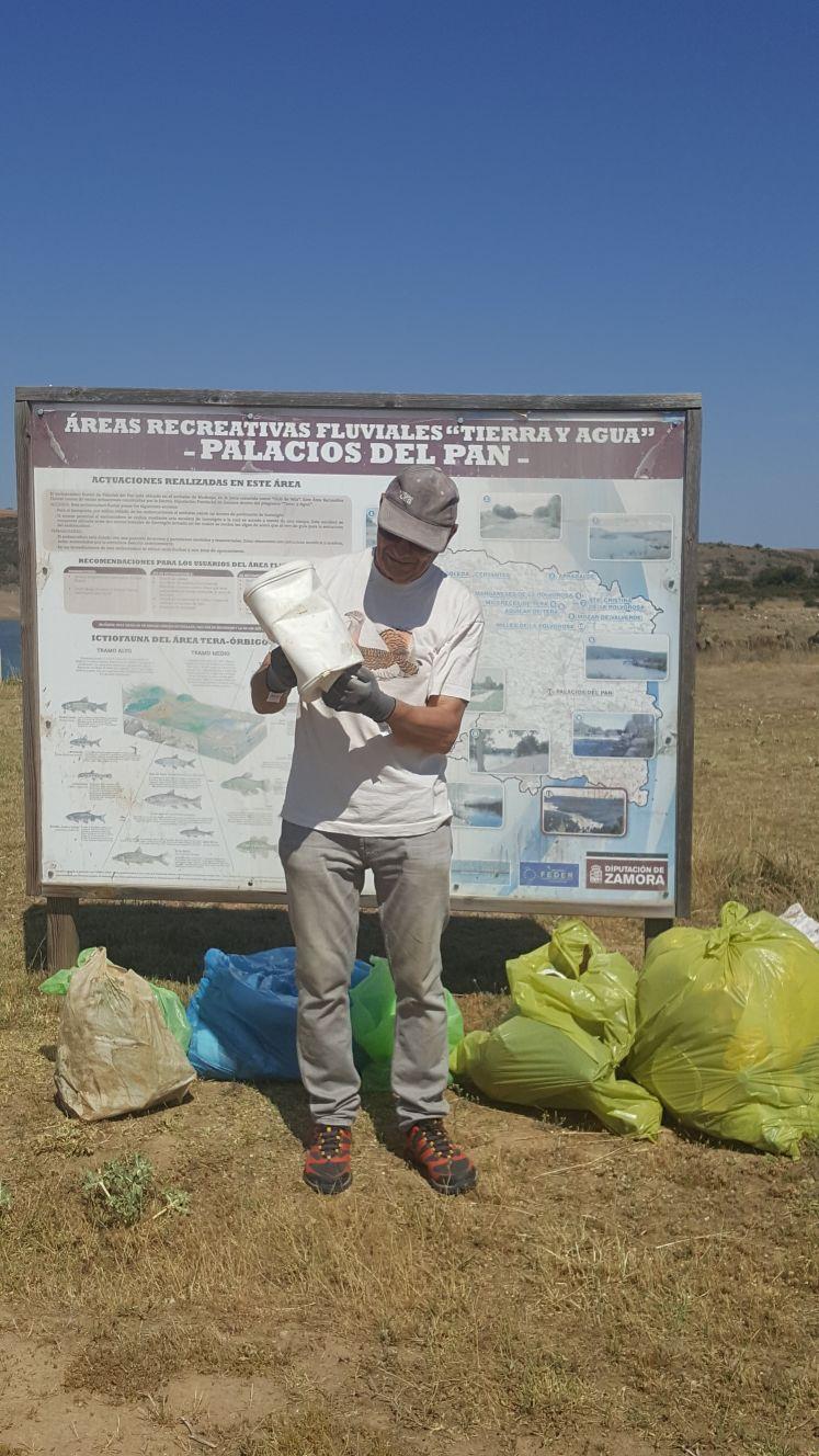 recogida de residuos en palacios del pan