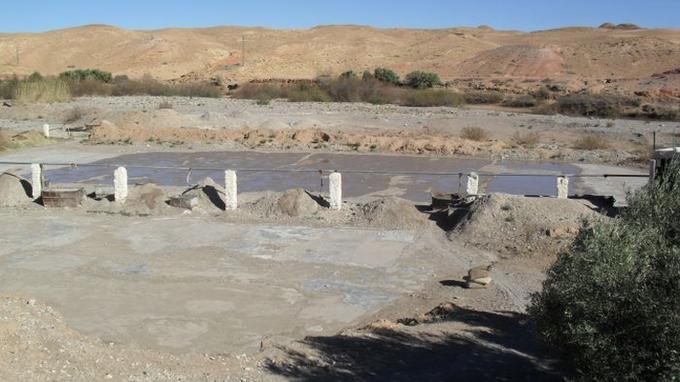 Extracción de Ghassoul