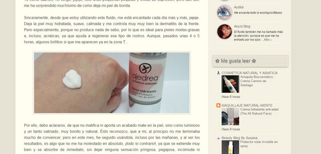Perlica cosmetiques habla de Ajedrea Cosmetica