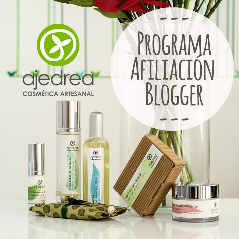 Programa de afiliados en cosmetica natural